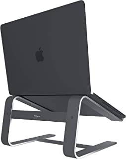 Macally Aluminum Laptop Stand for Home & Office Desks - Fits All Notebooks from 10