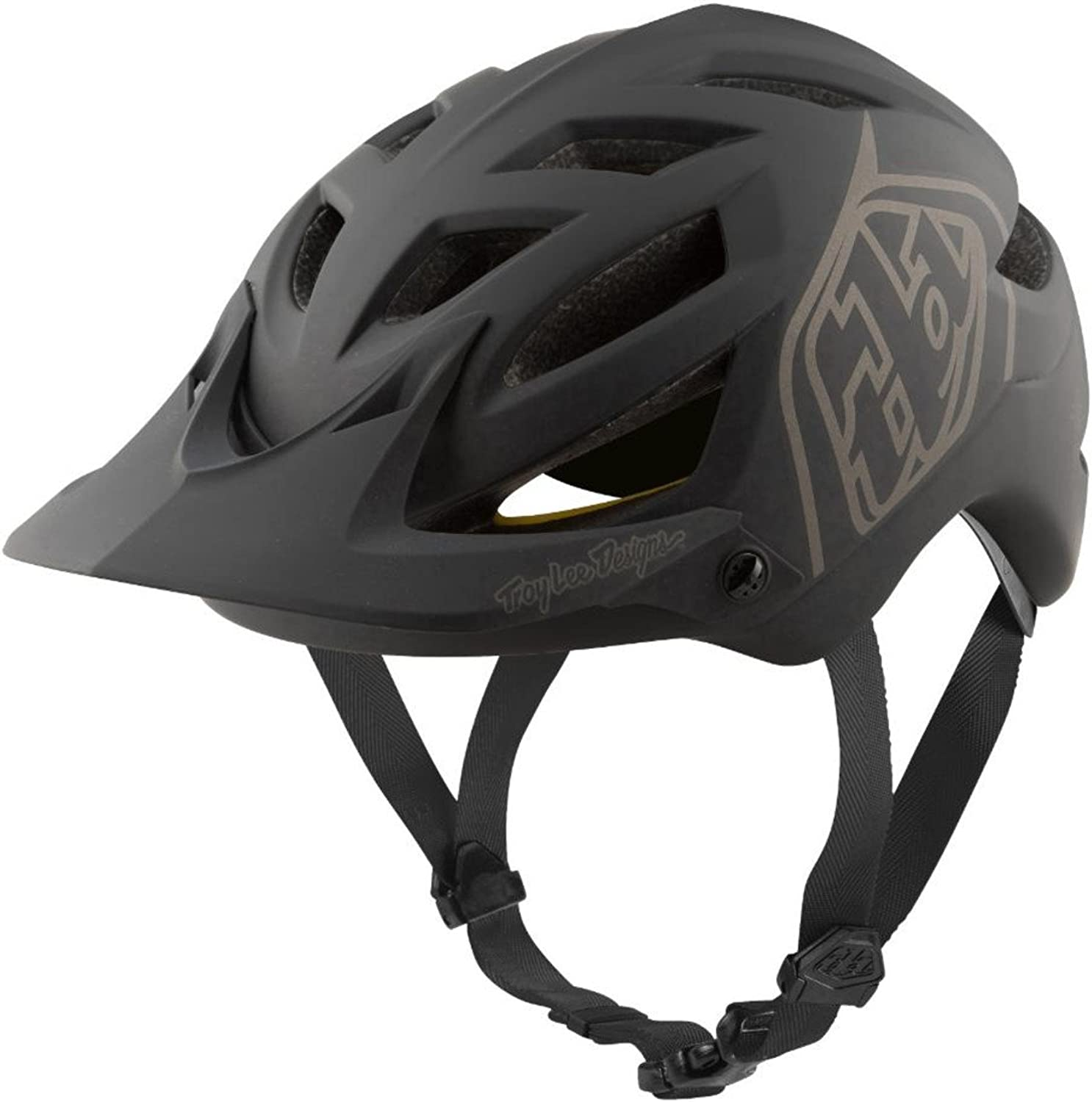 Troy Lee Designs A1 AS MIPS Bike Helmet 2018 Classic Black XSmall