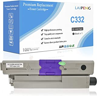 Cartuchos de Tóner Compatibles C332 MC363 Alta Capacidad 3500 Páginas para Negro para Impresoras Color Oki OKIDATA C332dn ...