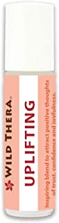 Wild Thera Uplifting EO Blend 10 ml. Therapeutic Grade Certified Essential Oil. Enhance Mood, Increase Joy, Release Sadness, Gloom and Depression.
