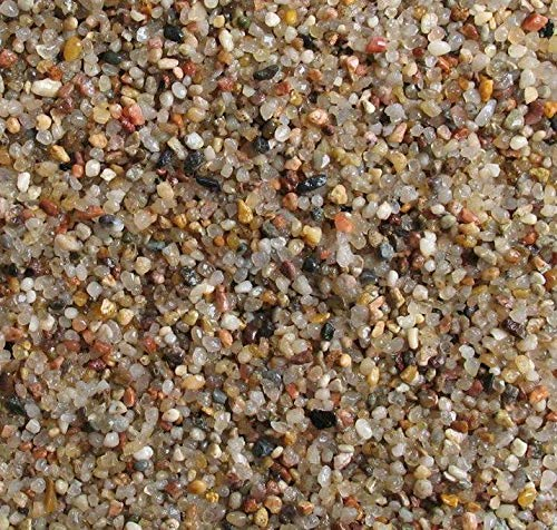 ORBIT Naturkies feine Körnung beige Premium Qualität 15 kg 1-2mm Bodengrund Aquarium Pflanzen Süßwasser Meerwasser
