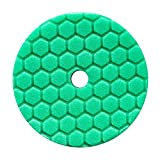 Chemical Guys hexagonale Logic Quantum 140 mm 14 cm Vert Heavy Polissage Pad ~ Vernis