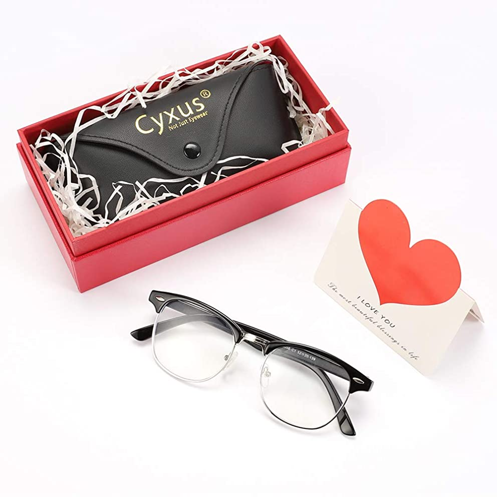 Cyxus Blue Light UV Blocking Computer Glasses, Anti Eye Strain Eyewear (Gift Packaging Limited Edition) bcmwiqvpx6
