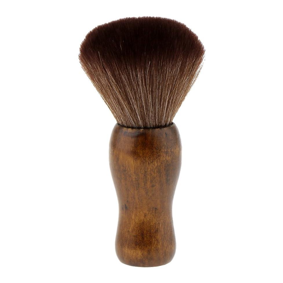 克服する優しさレオナルドダHomyl シェービングブラシ シェービング 洗顔 ブラシ メイクブラシ ソフト 快適 シェービングツール 2色選べる - 褐色