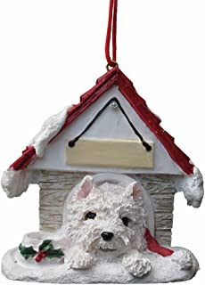 Westie Ornament A Great Gift For Westie Owners Hand Painted and Easily Personalized