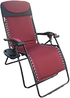 Deluxe Big & Tall Outdoor Recliner (Fully Padded for Ultimate Comfort), 375lb Weight Limit