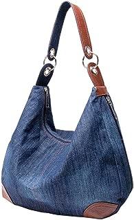Womens Handbag Purse Denim Tote Hobo Shoulder Crossbody Bags Denim