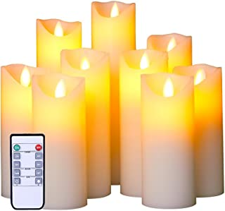 Best extra large led candles Reviews
