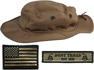 Gadsden and Culpeper Operator Boonie Hat Bundle & Patches - USA/DTOM