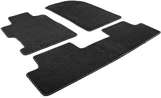 Floor Mat Compatible With 2006-2011 Honda Civic   Factory Fitment Car Front & Rear Nylon Car Floor Carpets Carpet liner by IKON MOTORSPORTS   ?2007 2008 2009 2010