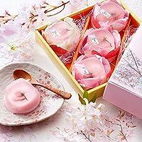 [創味菓庵] 桜プリン祭り 5個 国産 樱花 布丁 [包装紙済] 送料無料
