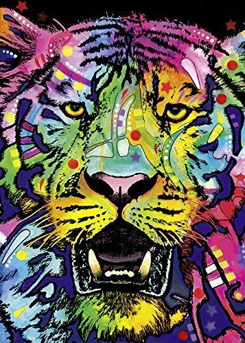OT-706 DoDoUp 1000 Pezzi Puzzle Colore Immagini Tigre sulla Decorazione Immagini Giocattoli Giochi Divertenti Grande Regalo educativo in Legno per Bambini