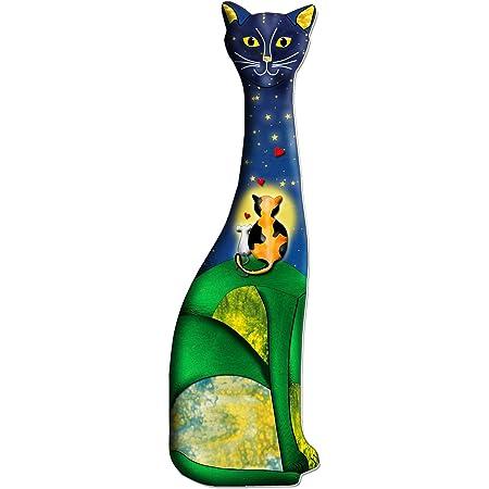 2 oder 10 St/ück Lesezeichen K/ätzchen Lesezeichen f/ür Studenten hohl Kunststoff Geschenk schwarz B/ürobedarf 3D-Katzen-Lesezeichen Tier Neujahr