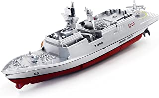 Dacawin(TM) Remote Control Challenger Aircraft Carrier RC Boat Warship Battleship (Sliver)