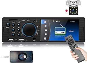 $43 » Camecho Single Din Car Stereo Audio 4.1 Inch Digital Screen Radio Car Multimedia MP5 Player Bluetooth FM Receiver with EQ/...