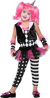 Forum Novelties Kids Lil' Trixie The Clown Costume, Multicolor, Large