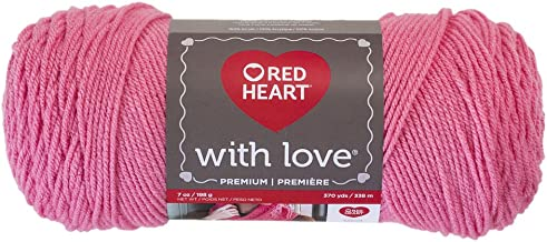 Red Heart with Love Yarn, Bubblegum