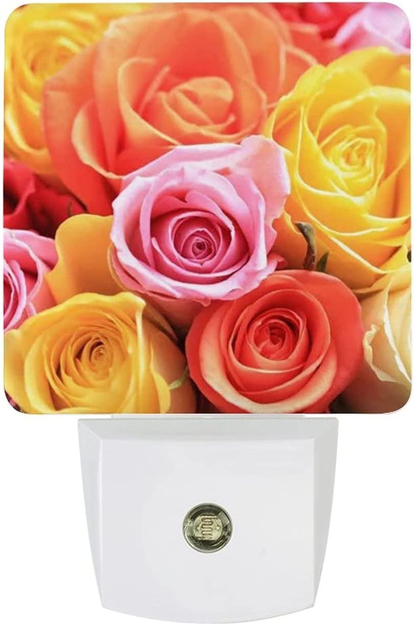 Flower Colors Portable use Rechargeable Night Light Radiati Zero SEAL Direct stock discount limited product