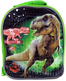 Jurassic World Whopper Reflective 9 Inch Lunch Box - Black and Green by Universal by Universal