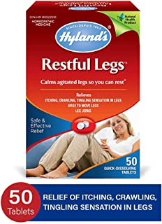 Leg Cramp Tablets by Hyland`s, Natural Relief of Calf, Leg and Foot Cramp, 100 Count
