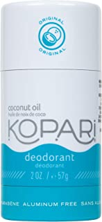 Kopari Aluminum-Free Deodorant Original | Non-Toxic, Paraben Free, Gluten Free & Cruelty Free Men's and Women's Deodorant | Made with Organic Coconut Oil | 2.0 oz