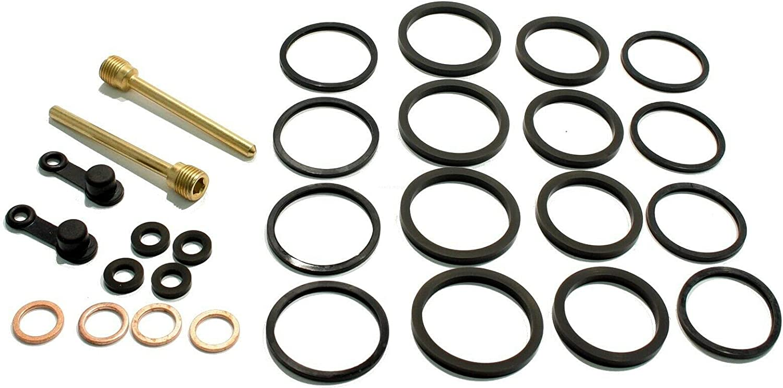 Front Brake Caliper Rebuild Kit fits Over item handling ☆ Katana Reservation 2008-2 GSX650F 650 -