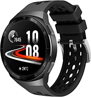 Songsier Band Compatibel met Huawei Watch GT2e, Sport Waterdichte Zachte Siliconen Vervangende Band Rrmbandband Alleen voo...