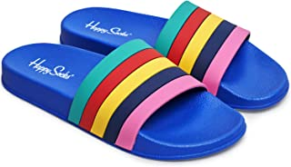 Happy Socks Pool Slider Stripes SDT114 - Sandalias de baño unisex