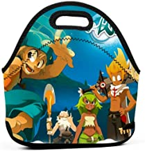 Wakfu Season 4 The Ugly Pageant Poster Insulated Lunch Bag Tote for Adult/Kids - Reusable Soft Neoprene Personalized Lunchbox Handbag for Work/School/Picnic