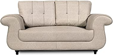 Home City Windsor Two Seater Sofa (Beige)