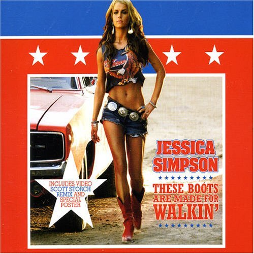 These Boots Are Made For Walking [Cd2] By Jessica Simpson (2005-08-29)