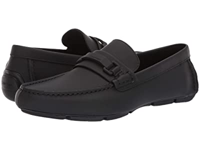 Calvin Klein Kamden (Black Rubberized Leather) Men