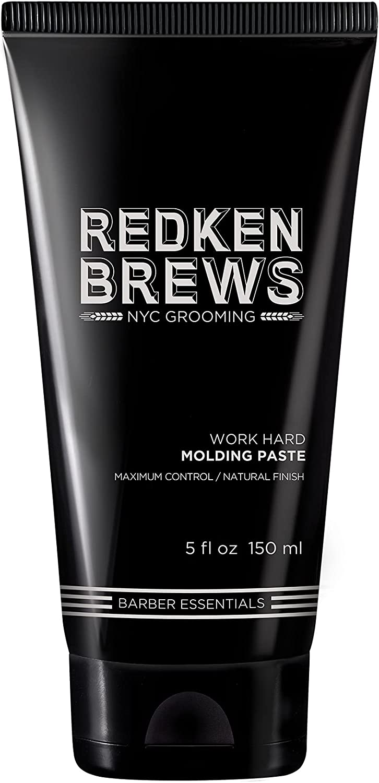 Redken Brews Work Hard Molding Paste (Tubo) 150 ml