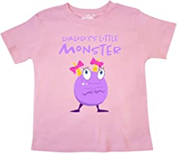 inktastic Daddy's Little Monster Toddler T-Shirt