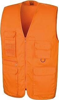 Result Work-Guard RE45A Adventure Safari Waistcoat Blank Plain
