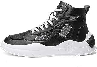 Scarpe sportive da uomo in pelle scarpe alte