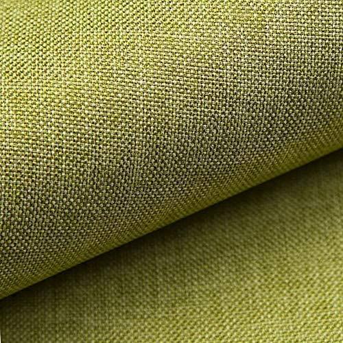 NOVELY® LUSO | 1 lfm | Feiner Stoff Polsterstoff Bezugsstoff Meterware Möbelstoff (22 Hellgrün)