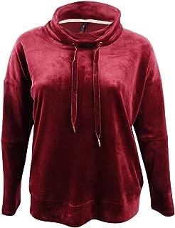 Performance Women's Plus Size Velour Drawstring Sweatshirt