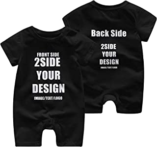 Custom Onesie for Baby 2 Side Degign Personalized...