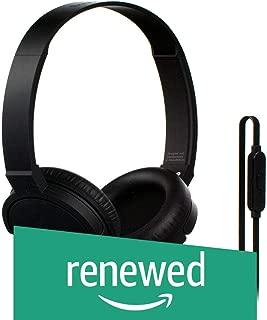 (Renewed) Sound Magic P10S Headphones with Mic (Black/Gunmetal)