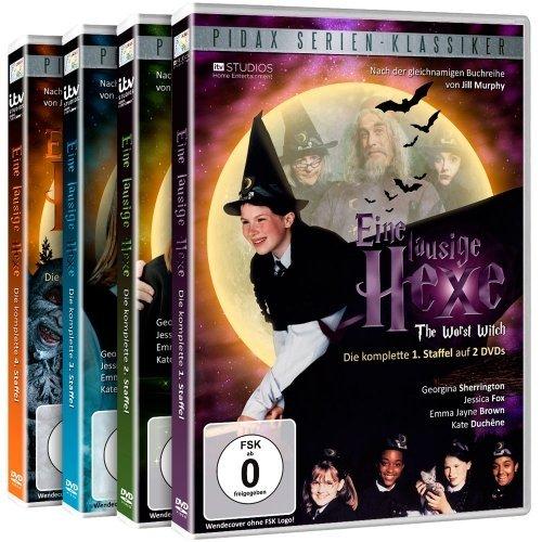 Eine lausige Hexe - Gesamtedition / Die komplette 52-teilige Serie auf 8 DVDs (Pidax Serien-Klassiker)