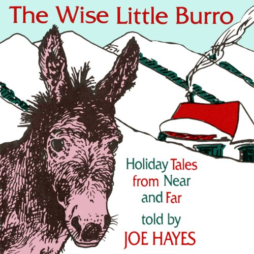 The Wise Little Burro audiobook cover art