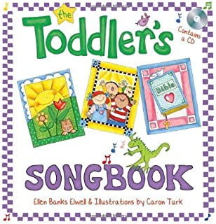 The Toddler's Songbook by Ellen Banks Elwell (2009-08-10)