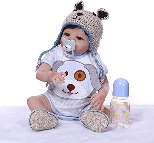 Felices compras Reborn Reborn Reborn muñecas de bebé de 48cm, ViNiño de Silicon  lista Hecho a Maño Bebés Para niñas Juguetes Reborn Baby Dolls, Conveniente Para la Edad 3 Más  el mas reciente