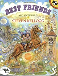 Image: Best Friends (Pied Piper Paperback) | Paperback: 32 pages | by Steven Kellogg (Author). Publisher: Puffin Books; Reprint edition (August 15, 1992)