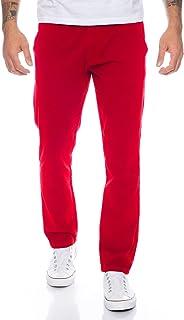 d6f08230895cb Amazon.fr : Chino - Rouge / Pantalons / Homme : Vêtements