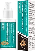 Hemorrhoids Spray,Germoloids Spray,Hemorrhoids Treatment,Hemorrhoids Spray for Hemorrhoids Fissures Bleeding Anal Discomfort,Natural and Fast Pain Relief Spray