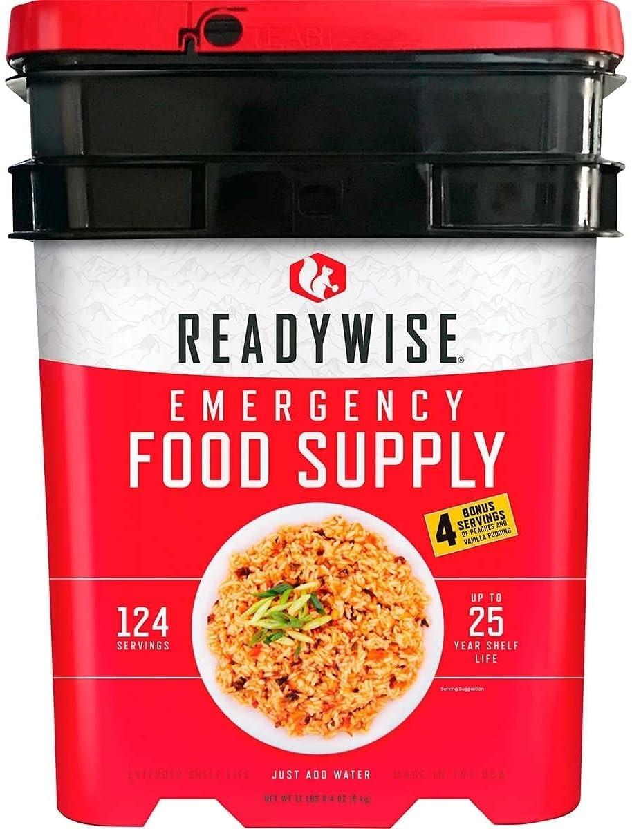 Emergency Food Supply - 124 Servings