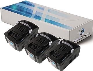 original vhbw® AKKU 1500mAh für METABO BSZ 12 Premium BZ 12 SP