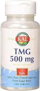 Kal 500 Mg Trimethylglycine Tablets, 120 Count